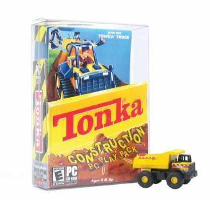 Bestselling Games (2006) - Tonka Construction Play Pack