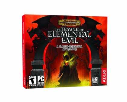 Bestselling Games (2006) - Temple of Elemental Evil: A Greyhawk Adventure (Jewel Case)