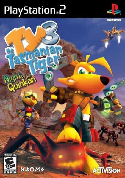 Bestselling Games (2006) - Ty the Tasmanian Tiger 3 Night of the Quinkan