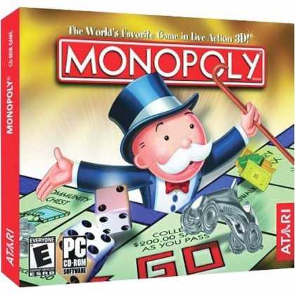 Bestselling Games (2006) - Monopoly 3 (Jewel Case)