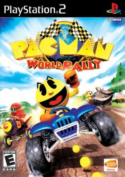 Bestselling Games (2006) - Pac Man World Rally