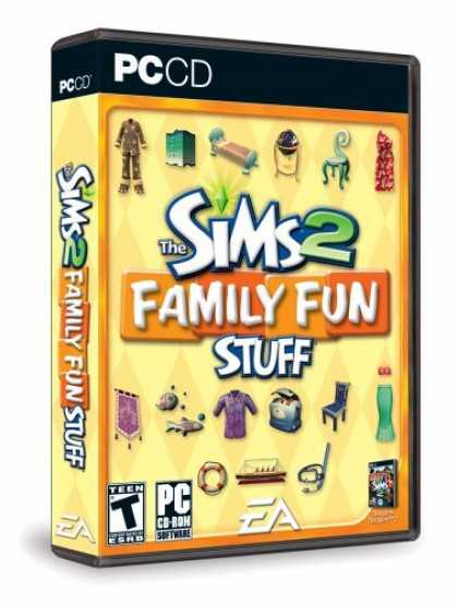 Bestselling Games (2006) - The Sims 2: Family Fun Stuff