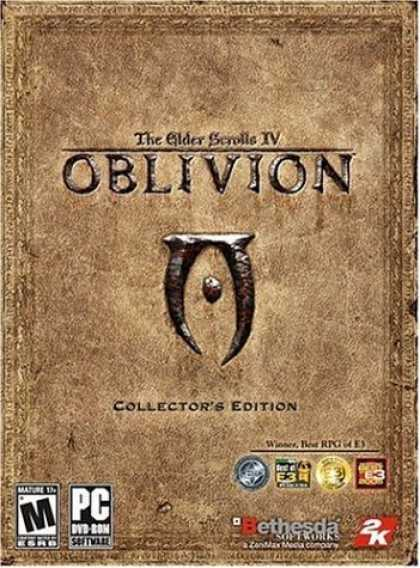 Bestselling Games (2006) - Elder Scrolls 4: Oblivion Collector's Edition (DVD-ROM)