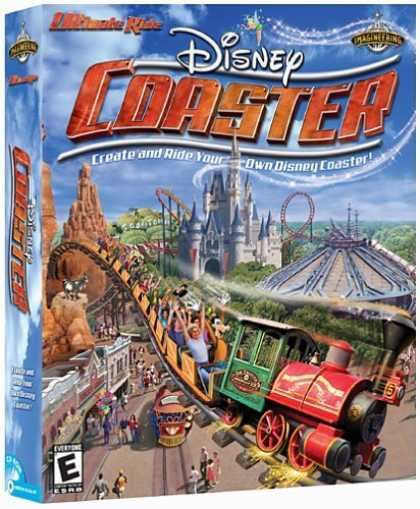 Bestselling Games (2006) - Ultimate Ride Coaster: Disney Edition