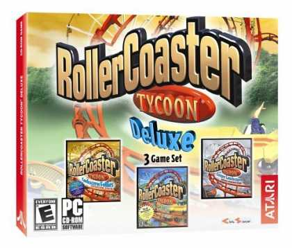 Bestselling Games (2006) - Rollercoaster Tycoon Deluxe (Jewel Case)