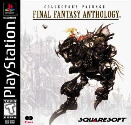 Bestselling Games (2006) - Final Fantasy Anthology Collector's Package
