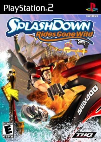 Bestselling Games (2006) - Splashdown: Rides Gone Wild for PlayStation 2