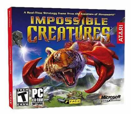 Bestselling Games (2006) - Impossible Creatures (Jewel Case)