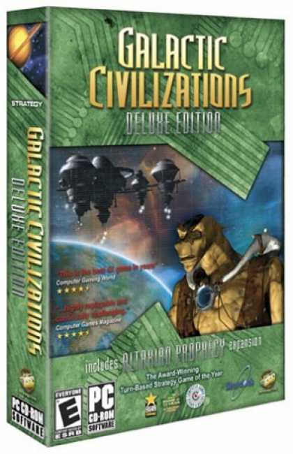 Bestselling Games (2006) - Galactic Civilizations Deluxe