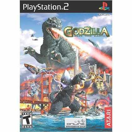 Bestselling Games (2006) - Godzilla: Save the Earth for PlayStation 2