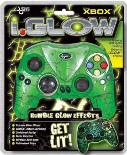 Bestselling Games (2006) - Xbox iGlow Controller Green