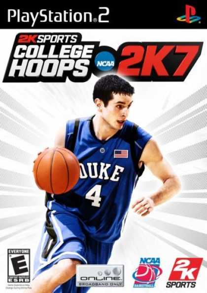 Bestselling Games (2006) - College Hoops 2K7