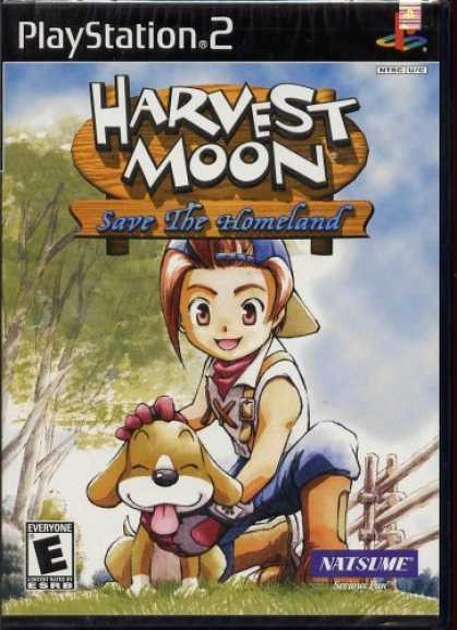 Bestselling Games (2006) - Harvest Moon: Save the Homeland