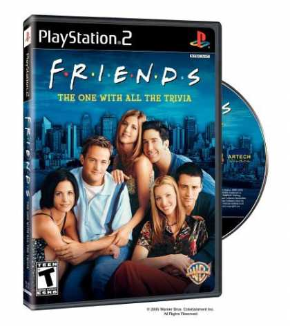 Bestselling Games (2006) - Friends: The One With All The Trivia ( Playstation 2 )