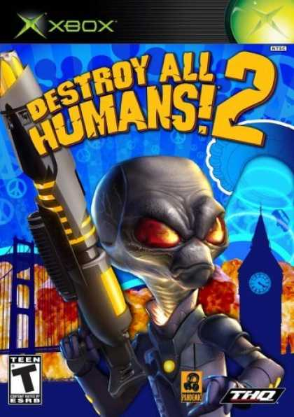 Bestselling Games (2006) - Destroy All Humans 2