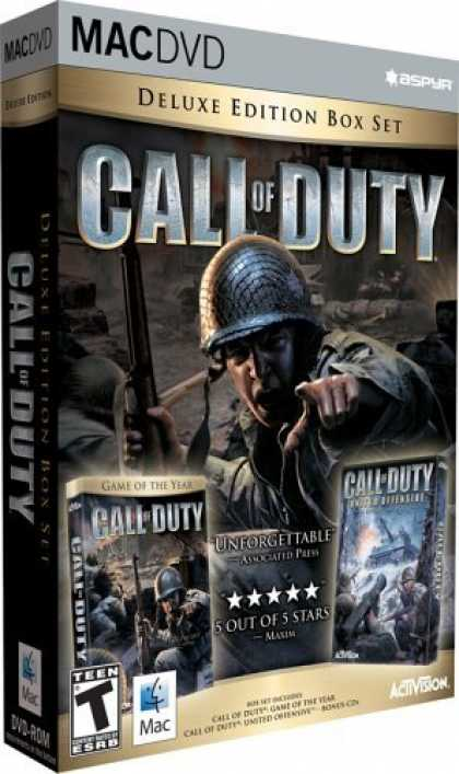 Bestselling Games (2006) - Call of Duty Deluxe (Mac) (DVD)
