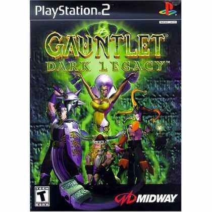 Bestselling Games (2006) - Gauntlet Dark Legacy for PlayStation 2