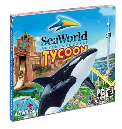 Bestselling Games (2006) - SeaWorld Adventure Park Tycoon (Jewel Case)