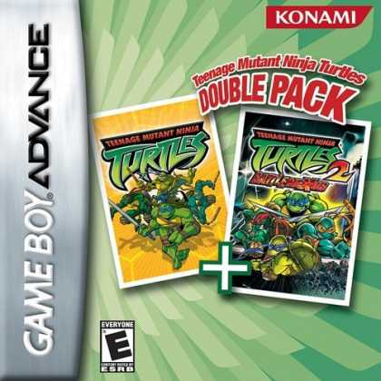 Bestselling Games (2006) - Teenage Mutant Ninja Turtles Double Pack