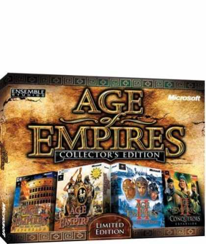 Bestselling Games (2006) - Age of Empires: Collectors Edition (Jewel Case)