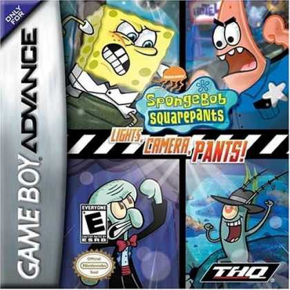 Bestselling Games (2006) - SpongeBob Squarepants: Lights, Camera, Pants
