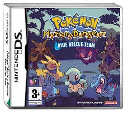 Bestselling Games (2006) - Pokemon Mystery Dungeon Blue Rescue Team - The Black Parade by My Chemical Roman