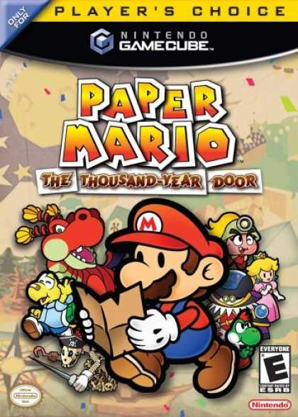 Bestselling Games (2006) - Paper Mario - The Thousand Year Door