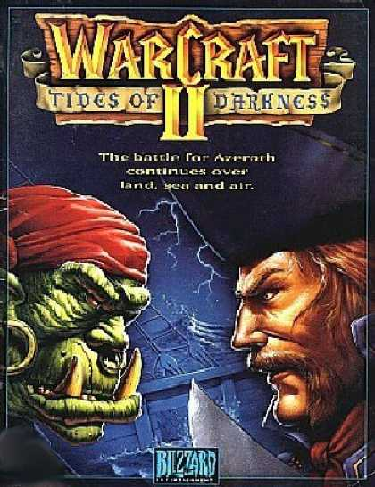Bestselling Games (2006) - Warcraft 2 Tides of Darkness (PC)