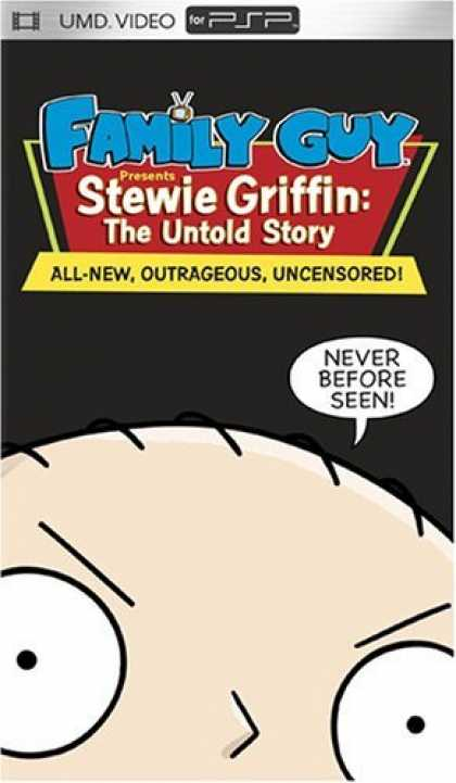 Bestselling Games (2006) - Family Guy Presents Stewie Griffin - The Untold Story (UMD Mini For PSP)