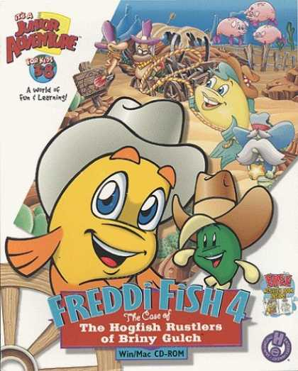 Bestselling Games (2006) - Freddi Fish 4: The Case of the Hogfish Rustlers of Briny Gulch