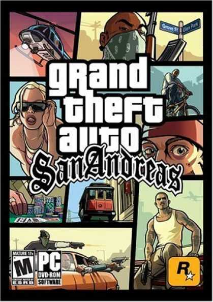 Bestselling Games (2006) - Grand Theft Auto: San Andreas ( DVD-ROM )
