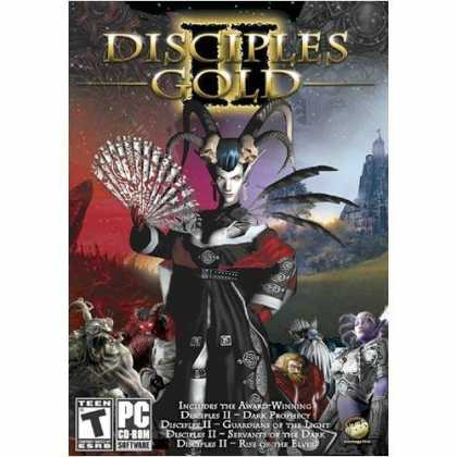 Bestselling Games (2006) - Disciples 2 Gold