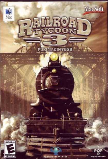 Bestselling Games (2006) - Railroad Tycoon 3 (Mac)