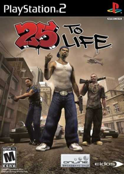 Bestselling Games (2006) - 25 to Life