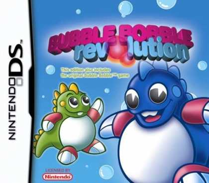 Bestselling Games (2006) - Nintendo DS Bubble Bobble Revolution
