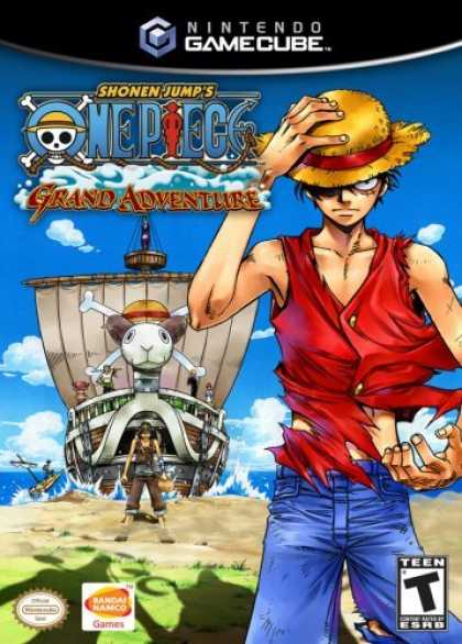 Bestselling Games (2006) - One Piece Grand Adventure