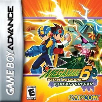 Bestselling Games (2006) - Mega Man Battle Network 6: Cybeast Gregar