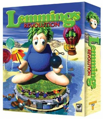 Bestselling Games (2006) - Lemming's Revolution (Jewel Case)