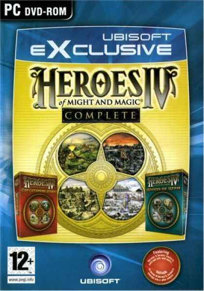Bestselling Games (2006) - Heroes of Might & Magic 4 Complete Dvd