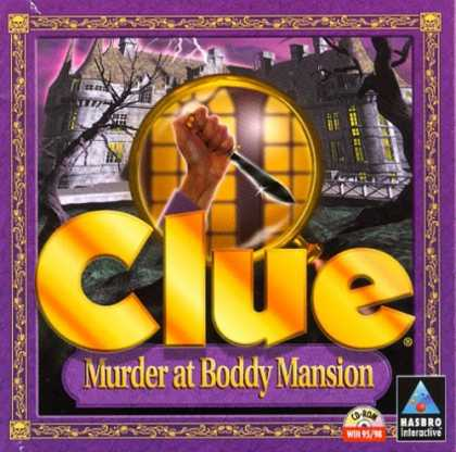 Bestselling Games (2006) - Clue: Murder at Boddy Mansion (Jewel Case)