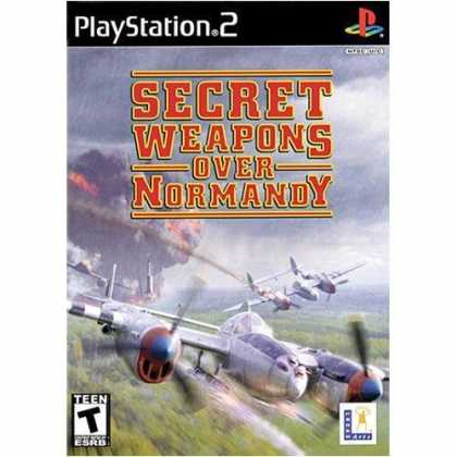 Bestselling Games (2006) - Secret Weapons Over Normandy for PlayStation 2