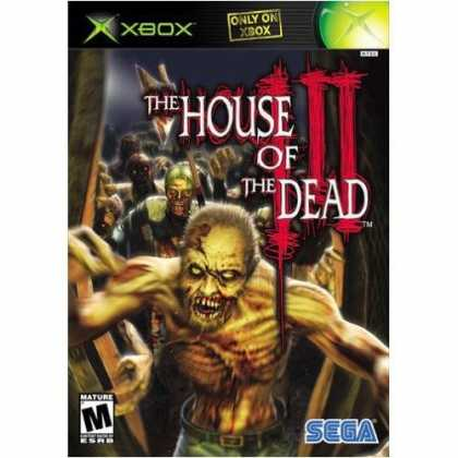 Bestselling Games (2006) - SEGA House Of The Dead III (Xbox)