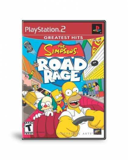 Bestselling Games (2006) - The Simpsons: Road Rage for Playstation 2