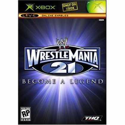Bestselling Games (2006) - WWE Wrestlemania XXI Become a Legend