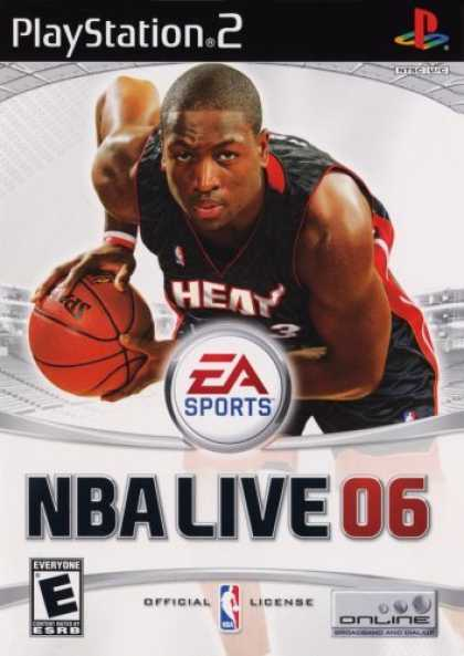 Bestselling Games (2006) - NBA Live 2006