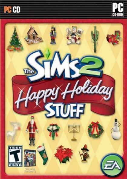 Bestselling Games (2006) - The Sims 2 Happy Holiday Stuff