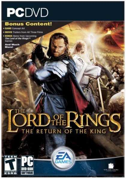 Bestselling Games (2006) - The Lord of the Rings: Return of the King (DVD-ROM)