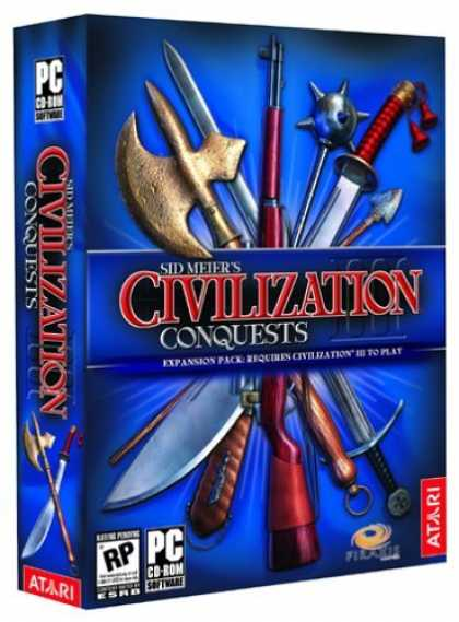 Bestselling Games (2006) - Civilization 3: Conquests Expansion Pack