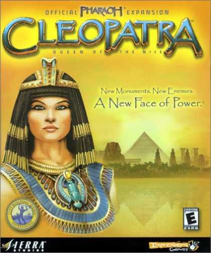 Bestselling Games (2006) - Pharaoh Official Expansion: Cleopatra
