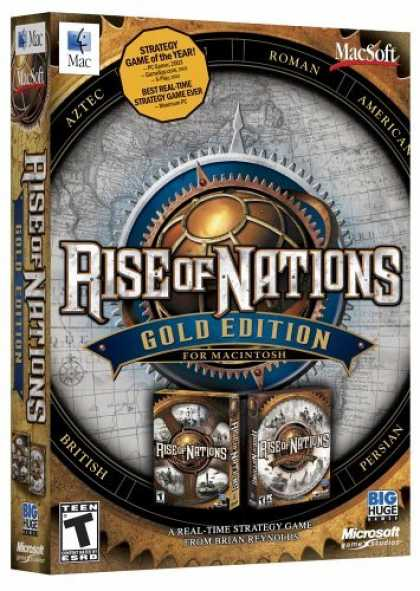 Bestselling Games (2006) - Rise Of Nations: Gold (Mac)